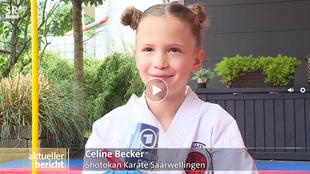 Wie sich Celine Becker in Corona-Zeiten virtuell mit der Welt misst