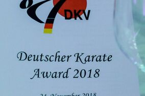 DKV Karate-Award, 24.11.2018 in München